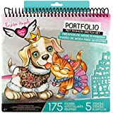 Fashion Angels Pet Lovers Fashion Full Size Sketch Portfolio, Style may vary