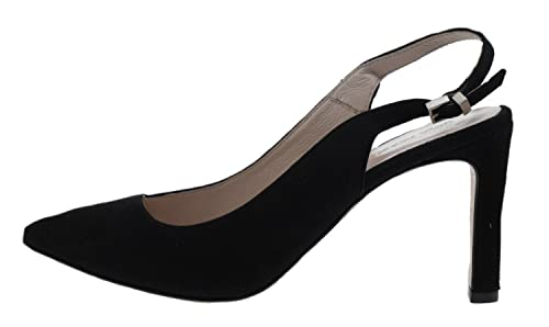 promo code 496a9 4008e GINO ROSSI Scarpe col Tacco Donna Nero Black, Nero (Black ...