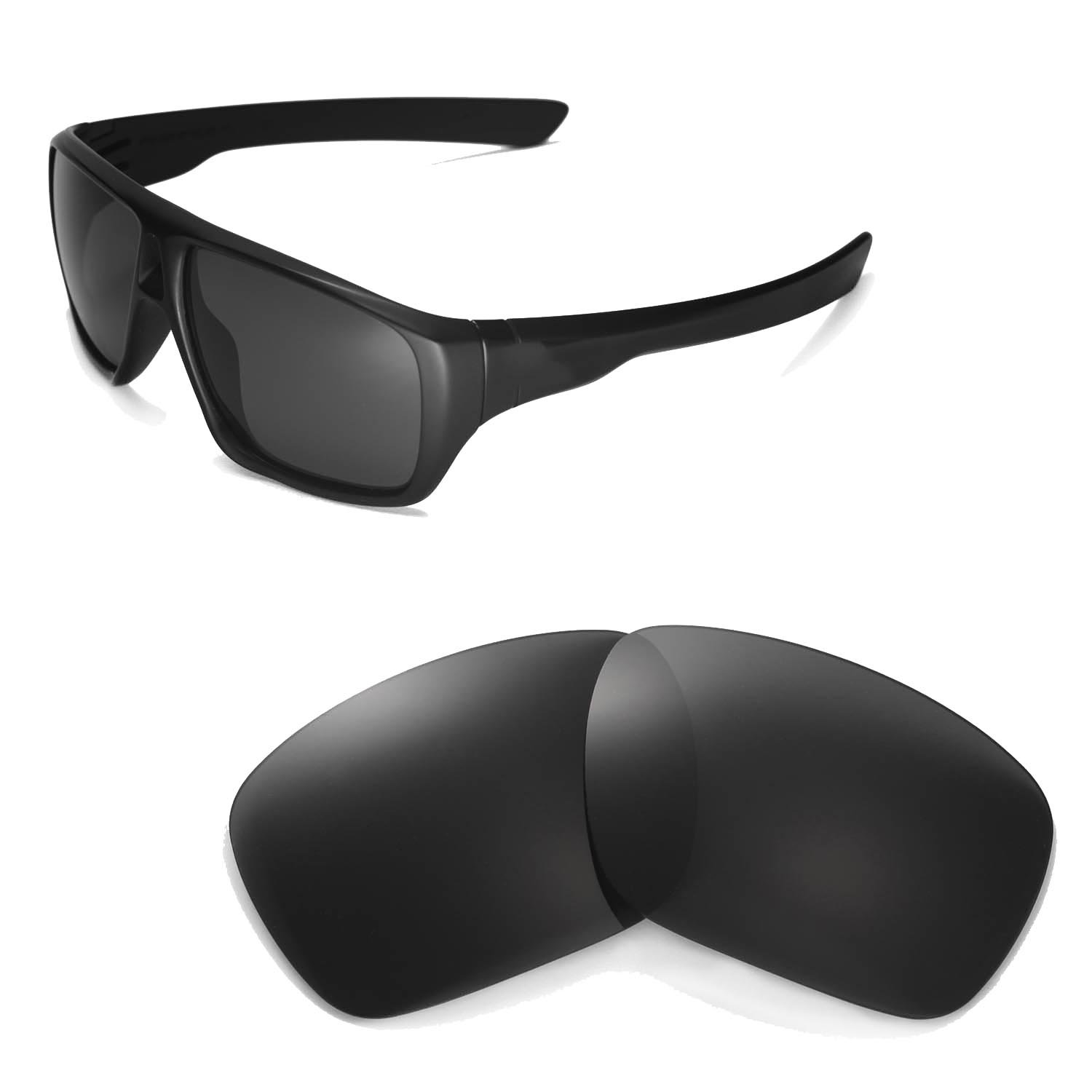 177c9ae88c Amazon.com  Walleva Replacement Lenses for Oakley Dispatch Sunglasses - Multiple  Options Available (Black)  Sports   Outdoors