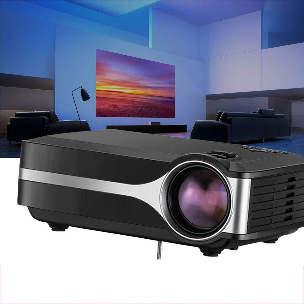 LMtt Proyector casero, proyector Video de HD, Sistema de Las ...