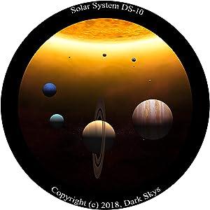 Solar System Disc for The Homestar Flux Home Planetarium