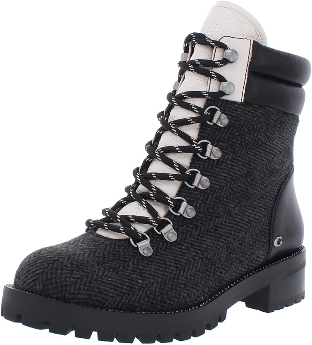 COACH Womens Lorren Wool Fashion Combat Boots