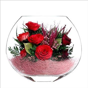 Zcm Fleur Eternelle Fleur Sous Vide Pour Envoyer Un Cadeau D
