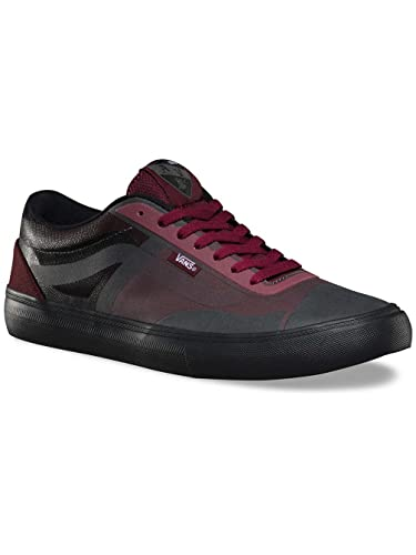 7ce7fe8805 Image Unavailable. Image not available for. Color  Vans Mens AV Rapidweld  Pro Lite Port Black US 7 Skateboarding Shoes