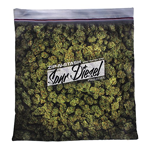 steelplant Giant Stash - Baggie of Cannabis Weed Pillowcase -