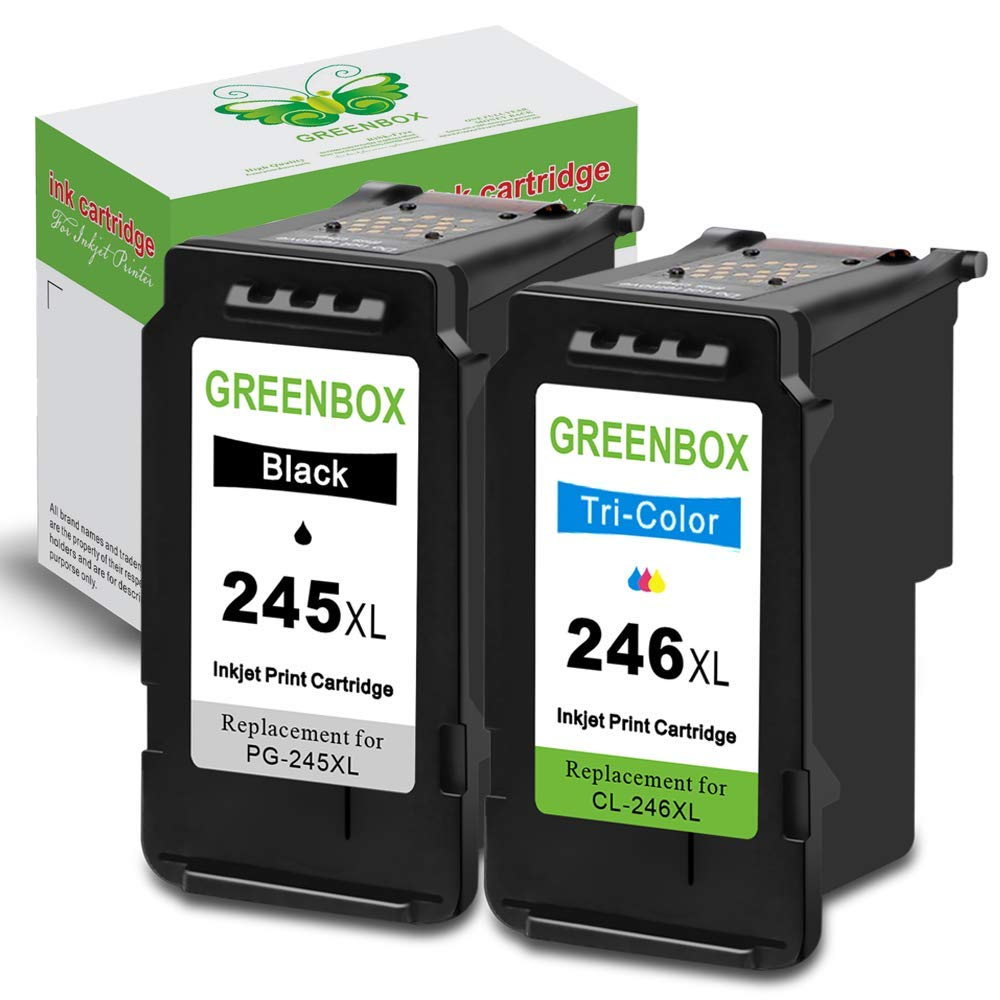 1PK PG245XL+1PK CL246XL Ink for Canon PIXMA TS202 TS302 MG3020 MG3022 MG3029