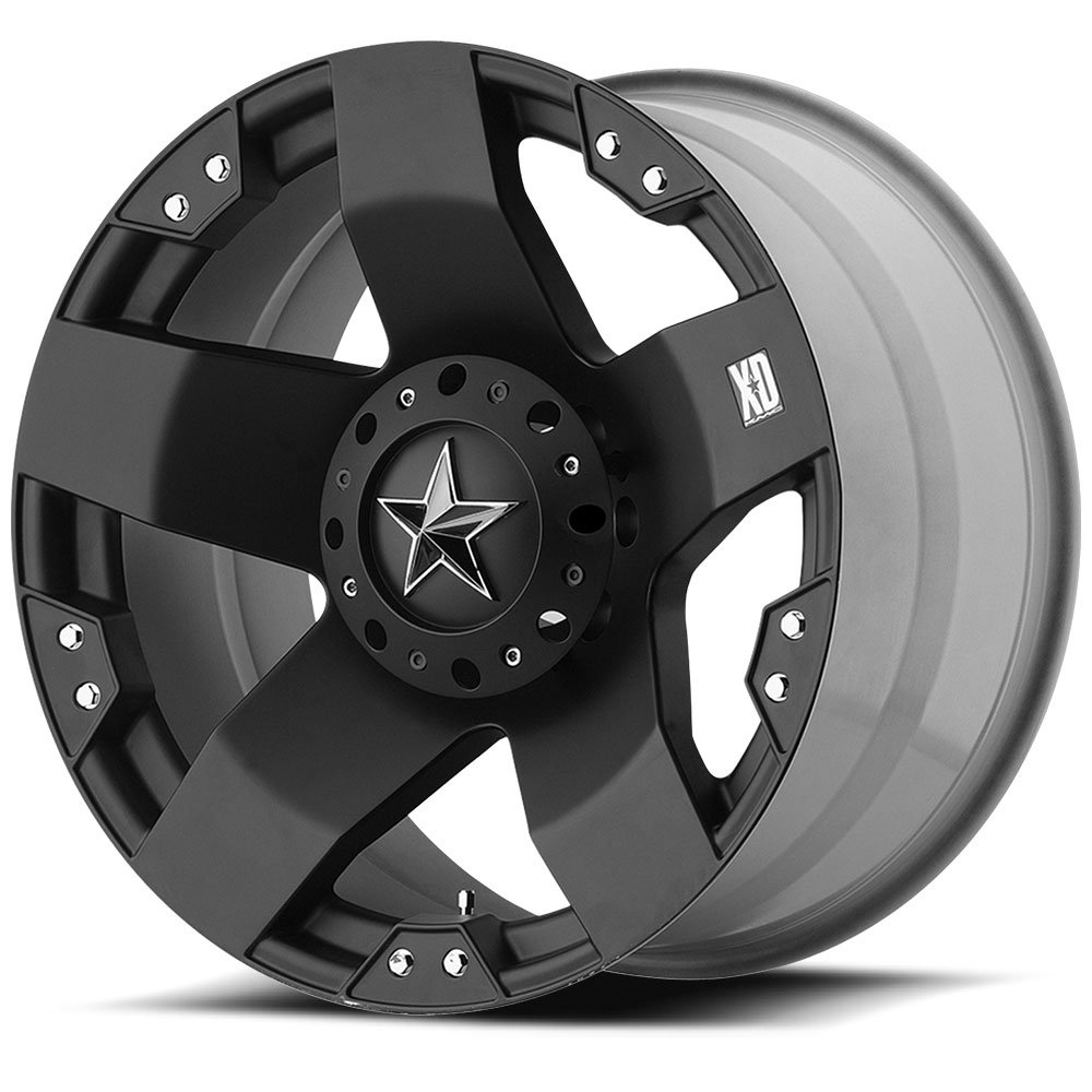 XD-Series Rockstar Dually XD775 Matte Black Rear Wheel (16x6''/8x170mm)