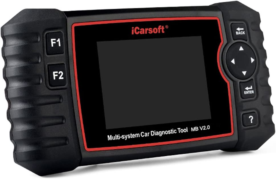 iCarsoft MB V2.0 Dispositivo de diagnóstico Profesional OBD II Apto para vehículos Mercedes, última versión