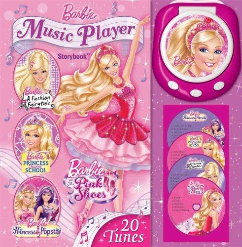 Barbie Music Player Storybook by Barbie (2014-08-26)