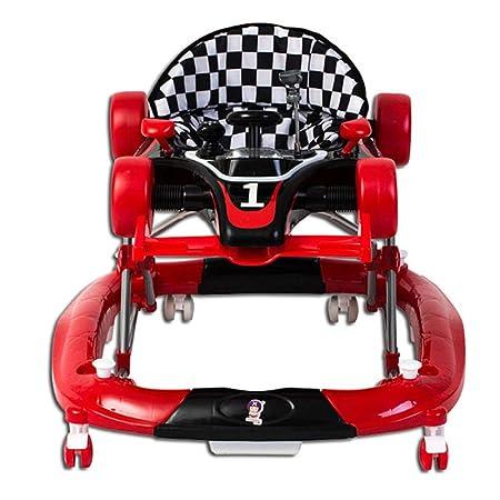 YSYDE - Andador de bebé 2 en 1 para coche de carreras ...