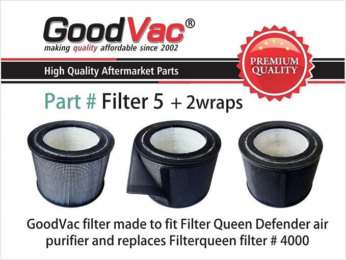 Filtro Reina Defender 4000 Hepa filtro de recambio y prefiltro 2 ...
