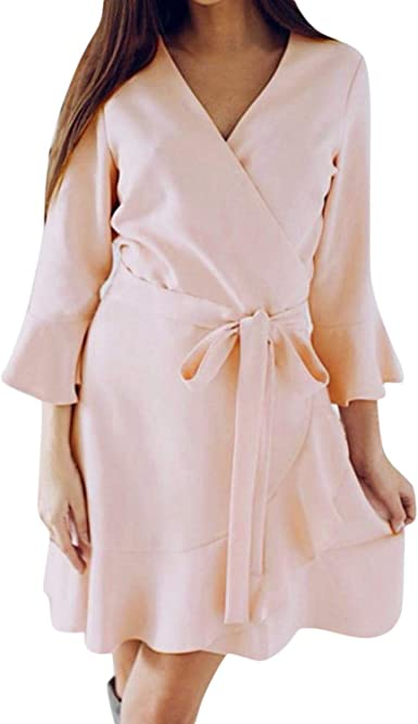 Sundress Mini Dress Beach Lace Casual Party Women/'s Crew neck White 1pcs 2019