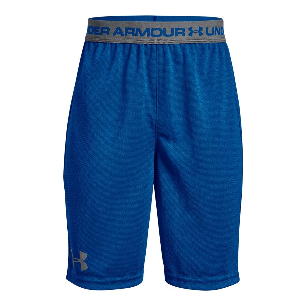 Under Armour Boys' Tech Prototype 2.0 Shorts, Royal (400)/Graphite, Youth X-Small