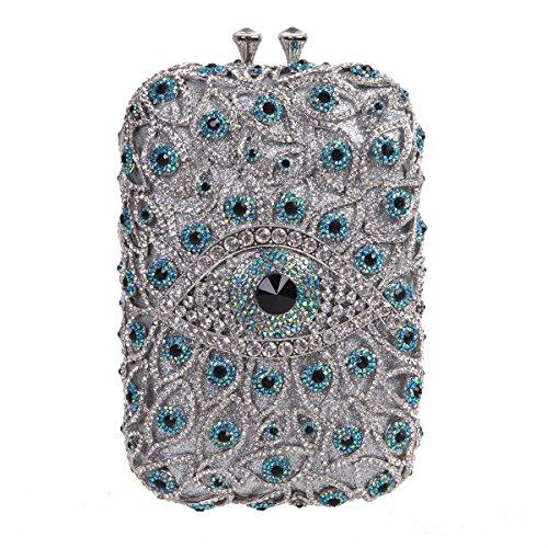 (Fawziya Eye Shape Purses And Handbags Wholesale Bags For Girls-Mint)