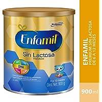 Enfamil Sin Lactosa, Fórmula Infantil Especializada para Bebés de 0 a 12 Meses, 900 gr