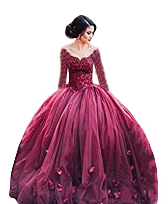df8025c8940 The Peachess 2019 Ball Gown Princess Quinceanera Dresses Lace Bodice ...