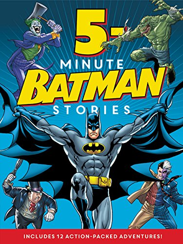 Batman Classic: 5-Minute Batman Stories by Harper Festival