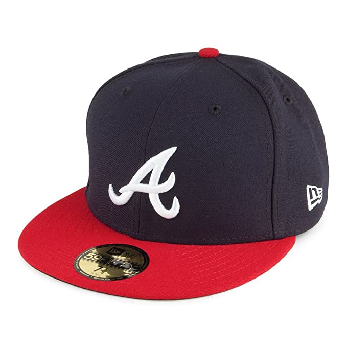 5d8a4ab859377 Gorra béisbol 59FIFTY On Field Atlanta Braves de New Era - Home  Amazon.es  Ropa  y accesorios