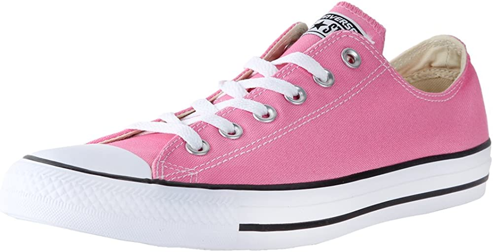Converse Chuck Taylor alle Star Core Canvas niedrig obere Sneaker (38 M Eu/7.5 B(M) uns Women/5.5 D(M) uns Men, Pink)
