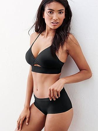 105511d05e757 Victoria s Secret  quot Easy quot  Twist Uplift No Wire Push-up Bra Black (