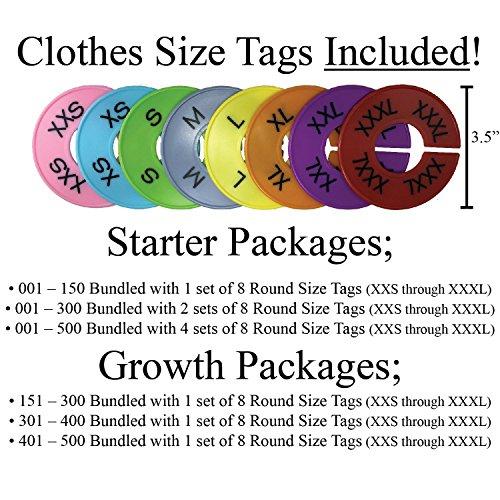 d23f34c38b0f Live Sales Tags | Large 001-150 Plastic Coat Number Tag | - Import ...