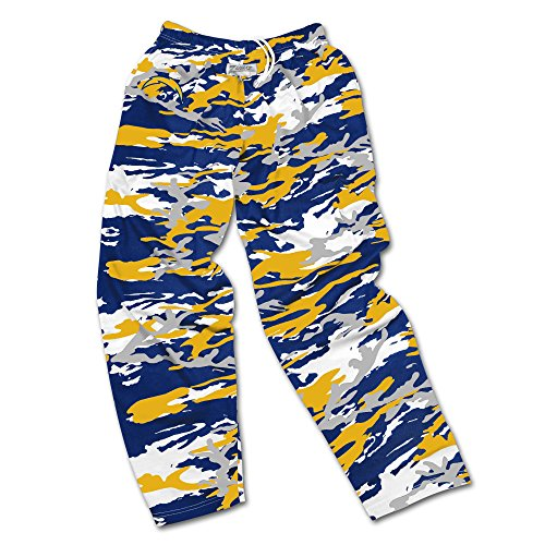(Zubaz NFL San Diego Chargers Men's Camo Print Team Logo Casual Active Pants, Medium, Navy/Gold/Gray)