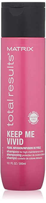 MATRIX Total Results Keep Me Vivid Sulfate-Free Shampoo for Color Treated Hair, 10 Fl. Oz. best shampoo for color-treated hair