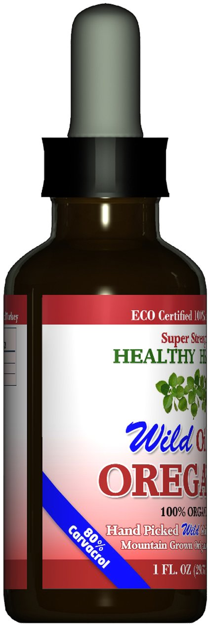 Buy 2 Get 1 Free Super Strength 85 Carvacrol Wild Mediterranean Turkish 100 Eco Certified Organic Oil of Oregano
