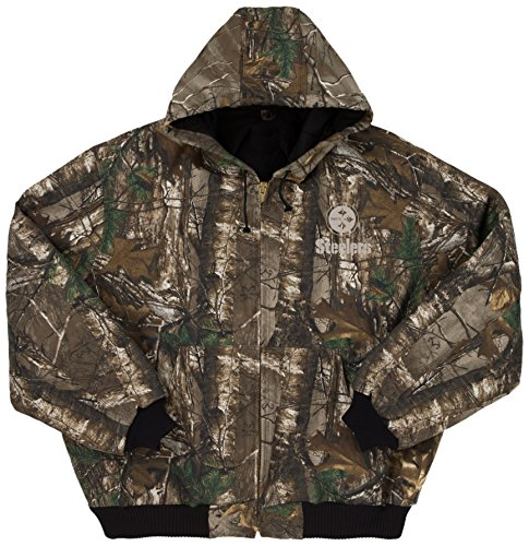 promo code f6619 e7cb4 NFL Pittsburgh Steelers The Camo Canvas Quilt Lined Hooded - Import It All