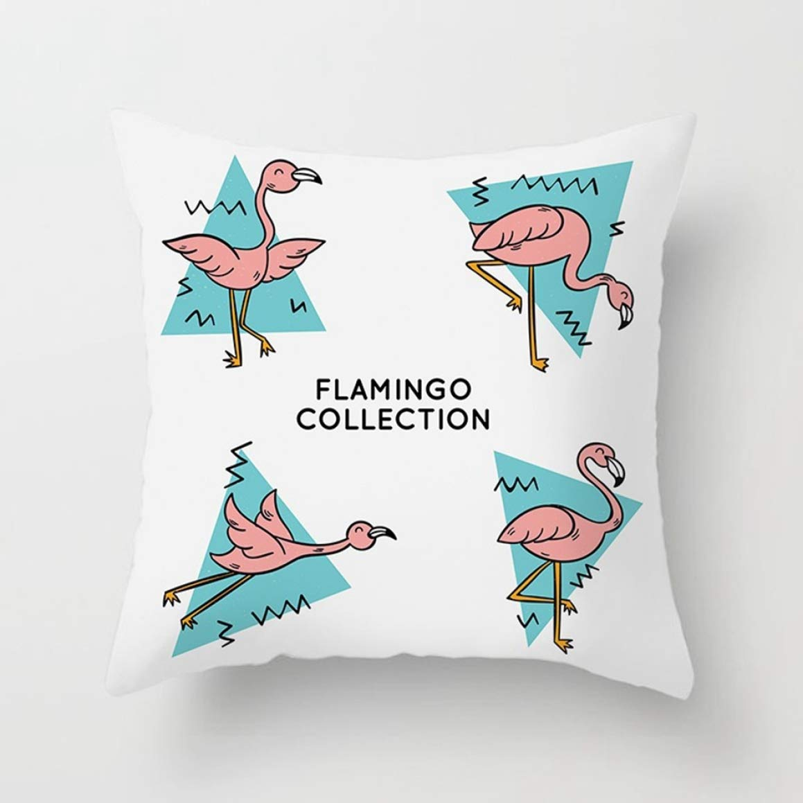 Buy Casey Rational 17 Flamingo Unicorn Throw Pillow Case Cushion Cover Home Decor Sofa Car Cute None 25 Online At Low Prices In India Amazon In