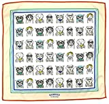 Handies Handkerchiefs - Unisex Microfiber Pet Design Hankies Cleaning Cloth Pocket Square Travel Accessory (Pets of Our Lives), Nude, 12'' x 12''