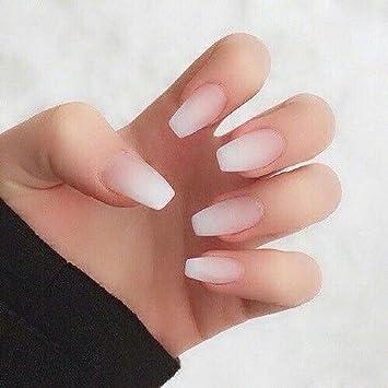 Amazon.com  Charming Nails Medium Length Acrylic Fake Nails
