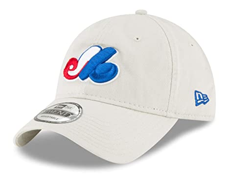 5377d299f337f Image Unavailable. Image not available for. Color  New Era Montreal Expos  MLB Cooperstown Core Classic Stone Adjustable Hat