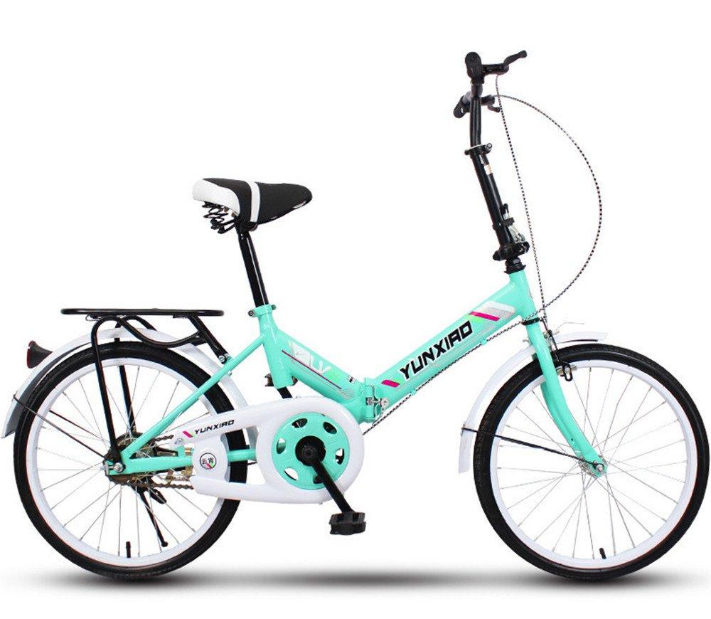 折りたたみ自転車 折り畳み 16インチ 20インチ 変速自転車 単速  変速 通勤 通学 小型 小径 簡単収納 B07BTWYMCB 20インチ単速 K K 20インチ単速