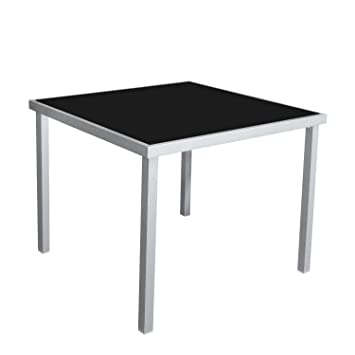 Bistromöbel garden table 90 x 90 cm aluminium garden furniture patio furniture