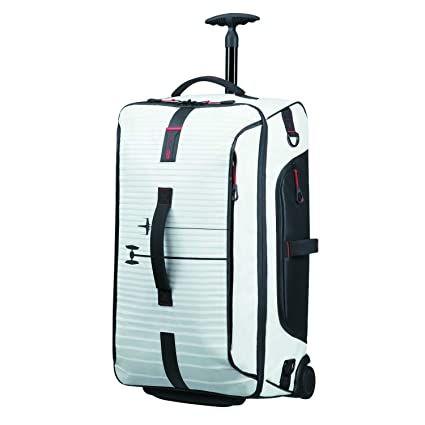 Samsonite Paradiver Light - Bolsa de Viaje con Ruedas, Multicolor (Star Wars Spaceship White), M (67cm-74.5L)