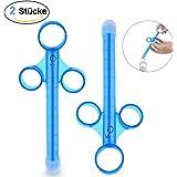 PALOQUETH Lube Tube Spritzen für Gleitgel Lubricant Schmiermittel Applicator Syringe Shooter Launcher wiederverwendbar, langlebig, leicht zu reinigen (2er Pack)