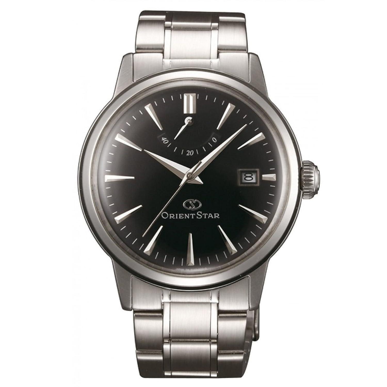 Orient Star Classic Automatische Power Reserve gewÖlbte Crystal Dress Uhr EL05002B