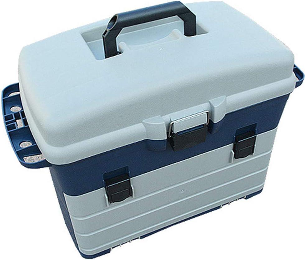GYFSLG Caja Multifuncional De 5 Capas Compartimiento De Pesca Caja De Herramientas Caja De Herramientas Material Plástico ABS Puede Usarse como Una Silla De Pesca Portátil: Amazon.es: Deportes y aire libre