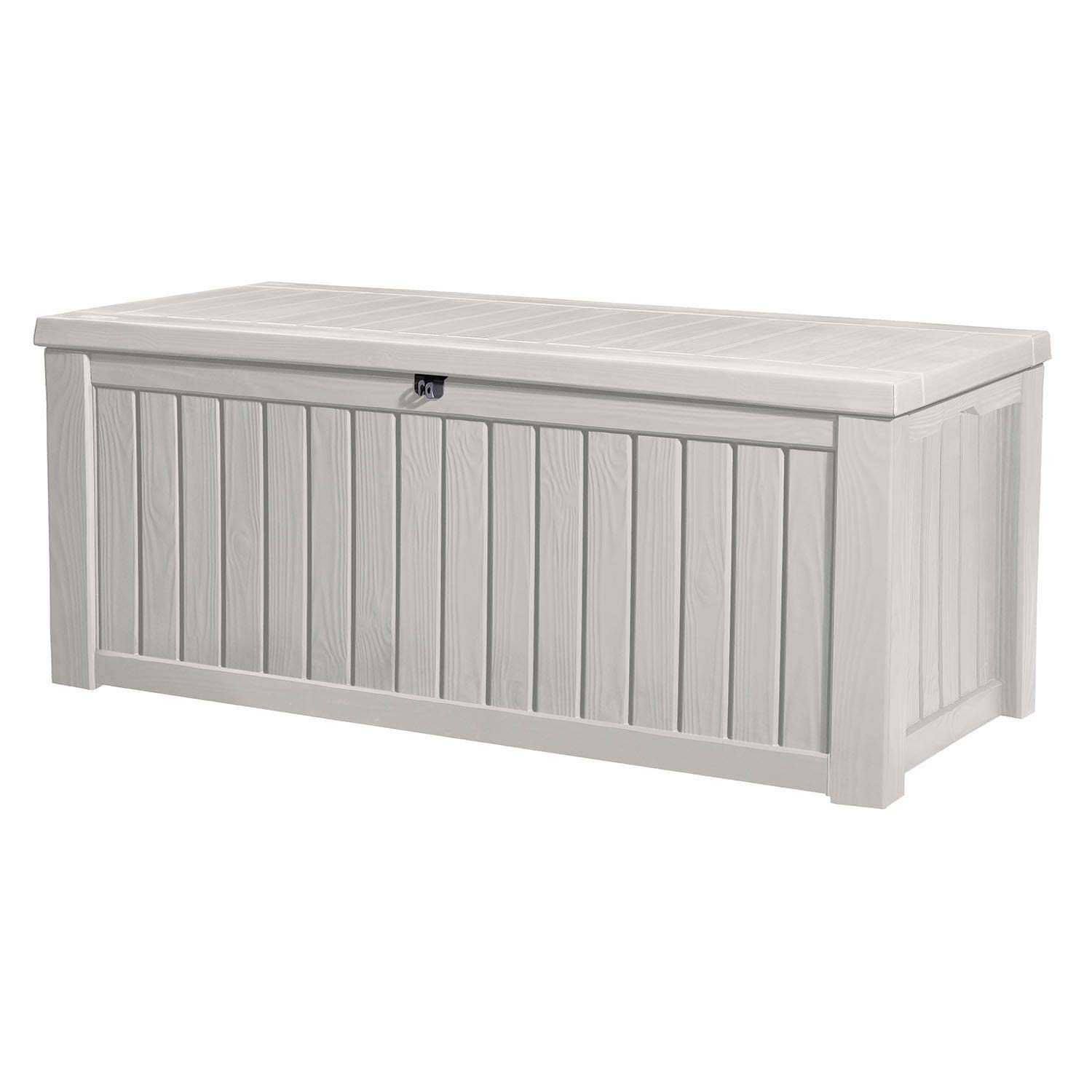 Keter Rockwood Jumbo 150 GL / 570 L White Outdoor Deck Storage Box 17197729
