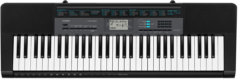 Casio CTK-2550 61 Key Portable Keyboard with App Integration/Dance Music Mode