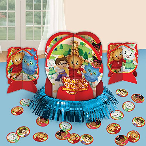 amscan Table Decorating Kit | Daniel Tiger's Neighborhood | Party Accessory, Multicolor, One Size]()