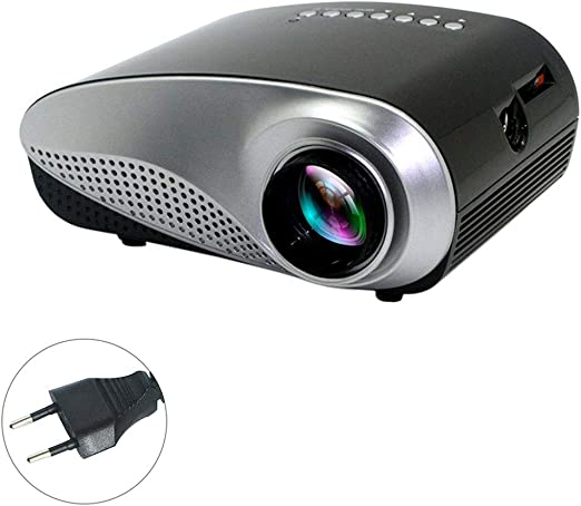 1080P HD Mini proyector 3D LED proyector Vídeo Proyector del TV AV ...