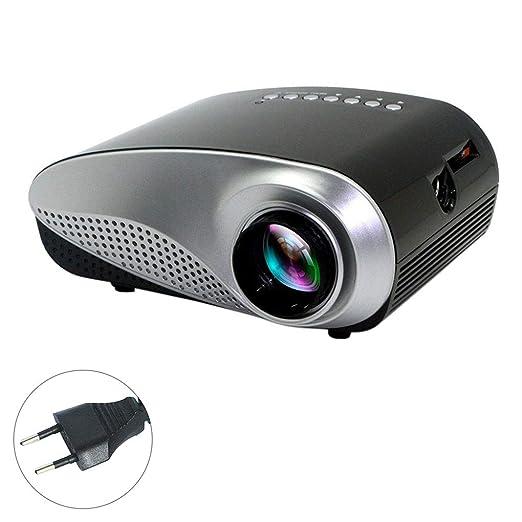 1080P HD Mini proyector 3D LED proyector Vídeo Proyector del TV AV ...