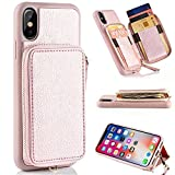 iPhone X Wallet Case , iPhone X Card Holder Case , ZVE...