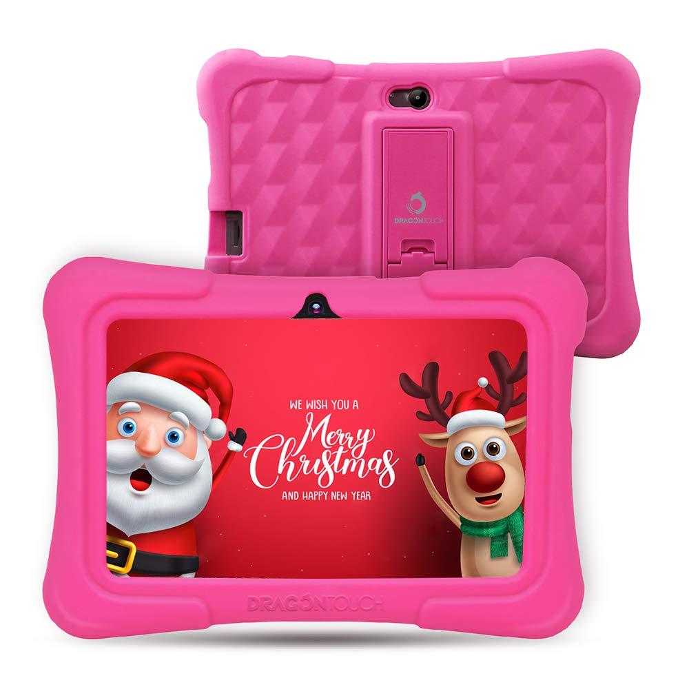 Dragon Touch Tablet para Niños con WiFi Bluetooth 7 Pulgadas 1024x600 Tablet Infantil de Android 8.1 Quad Core 1GB 16GB