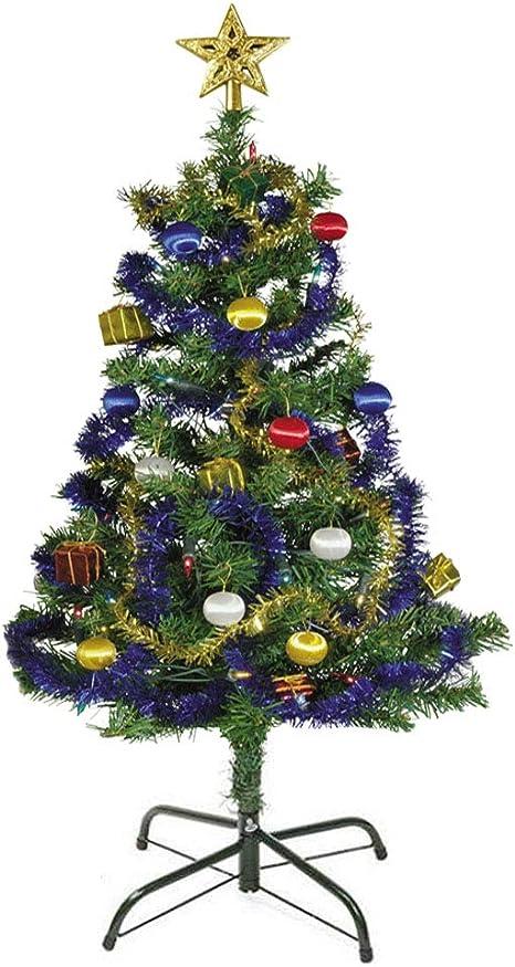 EasyBravo Soporte de árbol de Navidad de 45 cm para árboles de 150 ...
