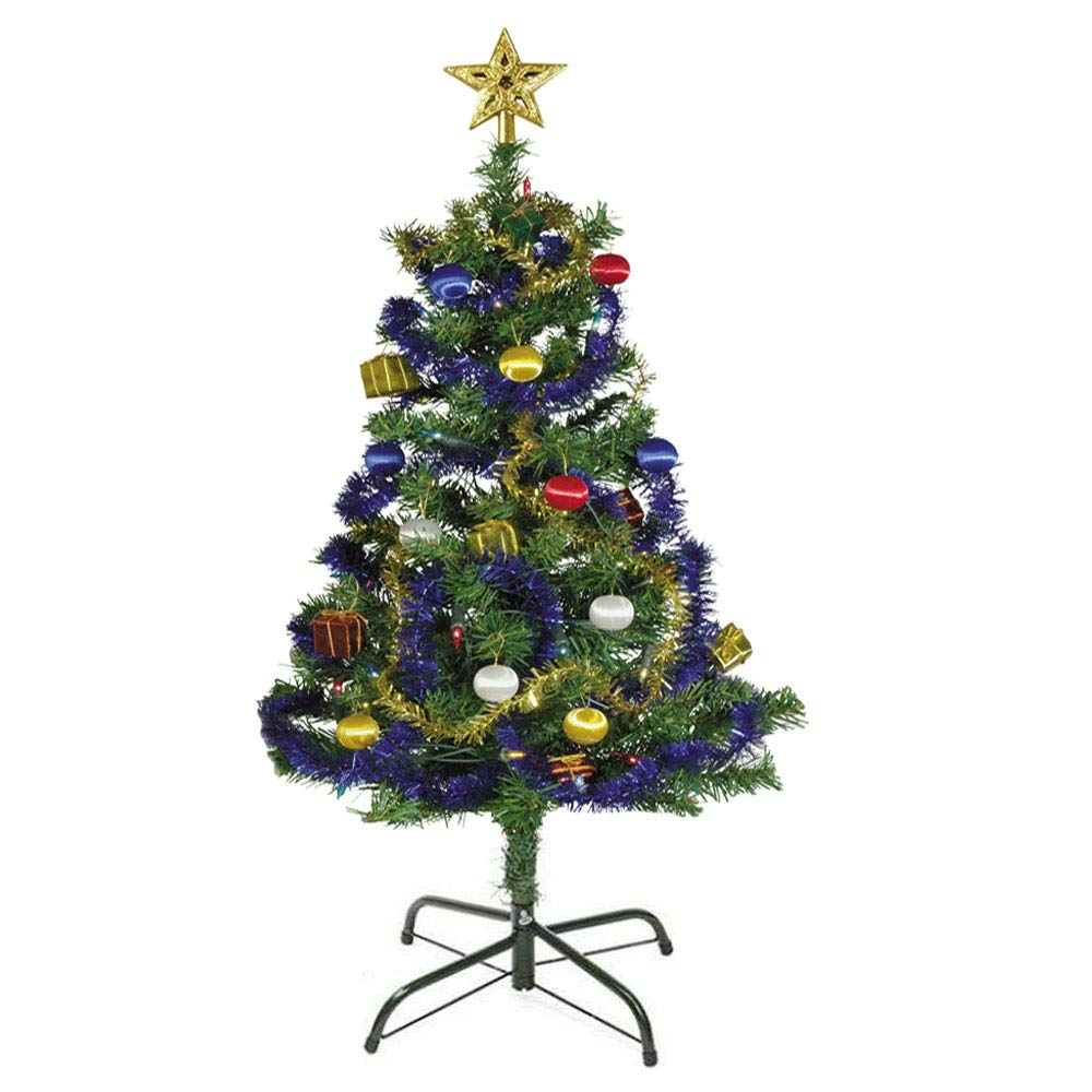 EasyBravo Basi e Supporto per Albero di Natale da 120 cm a 210 cm Alberi Albero di Natale Artificiale Stand Misura 1,0-3,2 Centimetri di palo