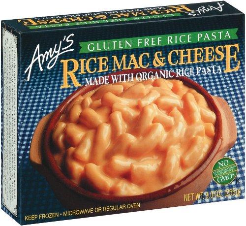 AMYS ENTREE MAC & CHS RICE GF ORG3 9OZ by Amy's