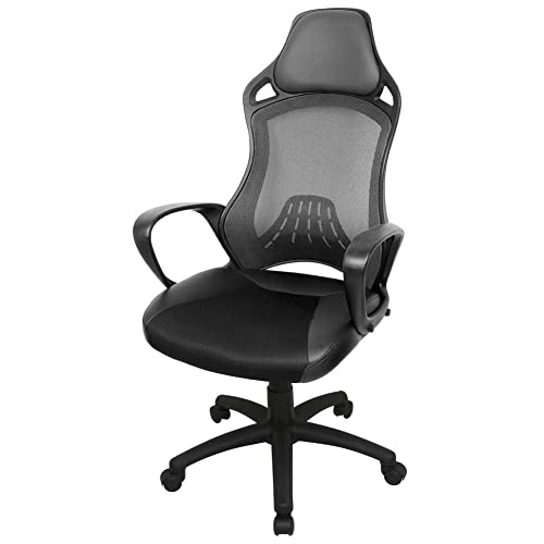 High Office Chair: Amazon.co.uk on high school chairs, high chiavari chairs, high top chairs, executive chairs, high living room chairs, high waiting room chairs, high accent chairs, high chairs product, drafting chairs, discounted ergonomic mesh computer chairs, high beach chairs, high laboratory chairs, high foot stools, high futons, high mattresses, high bar chairs, high outdoor patio furniture, high shop chairs, high desk chairs with backs, tall back chairs,
